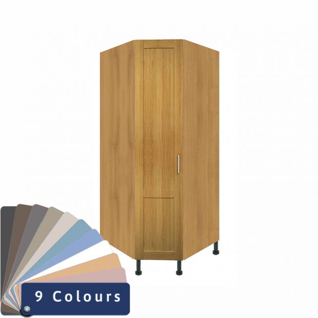 Corner Wardrobes - Bramshaw Solid