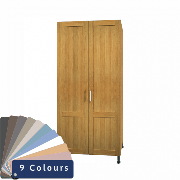 Double Wardrobes - Bramshaw Solid