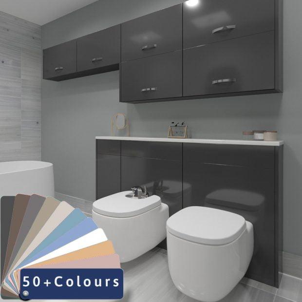 Bathroom Sets - Meon Acrylic