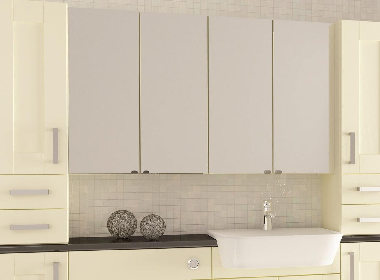 bespoke mirror wall cabinet